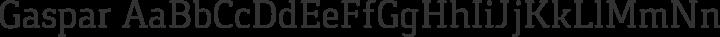Gaspar Regular free font