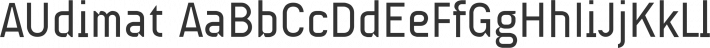 AUdimat font family by SMeltery
