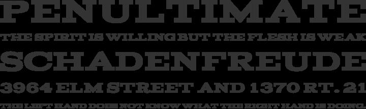 Acknowledgement Font Phrases