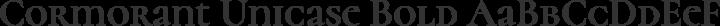 Cormorant Unicase Bold free font