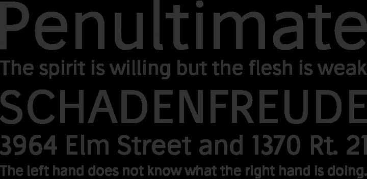 Stilu Font Phrases