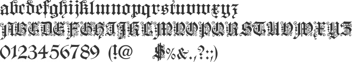Dearest Font Specimen