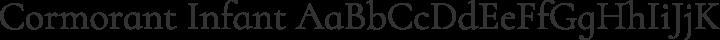 Cormorant Infant Regular free font
