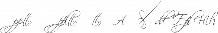 Scriptina - Alternates Regular free font