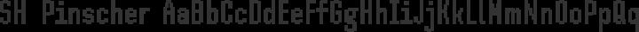 SH Pinscher Regular free font