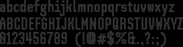 SH Pinscher Font Specimen