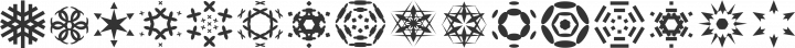 Rhomus Omnilots   free font