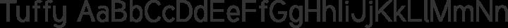 Tuffy Regular free font