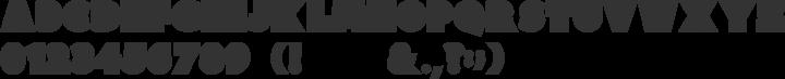 Clutchee Font Specimen
