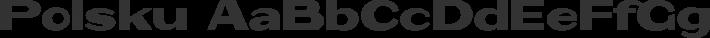 Polsku font family by OSP-foundry