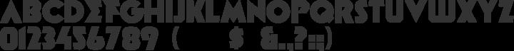 Minotaur Font Specimen