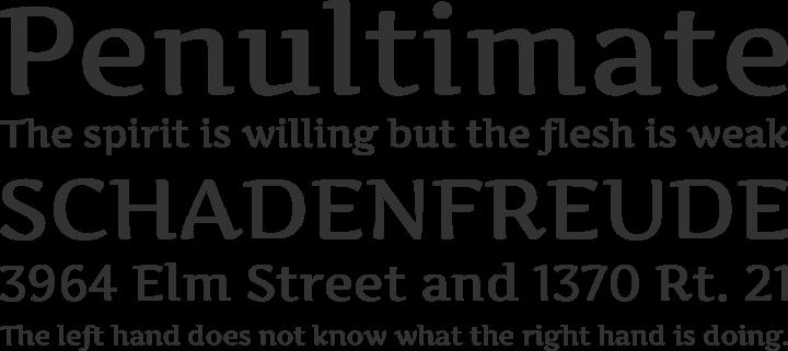 Artifika Font Phrases