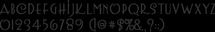 LemonChicken Font Specimen