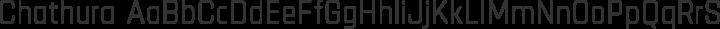 Chathura Regular free font