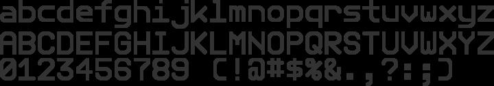 Telegrama Font Specimen