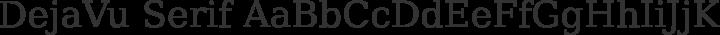 DejaVu Serif Regular free font