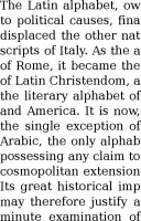 DejaVu Serif 9pt paragraph