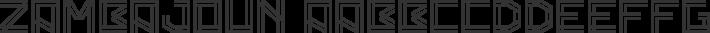 Zambajoun font family by Vertigo Design