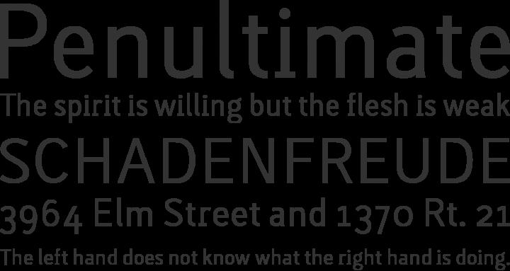 Lacuna Regular Font Phrases