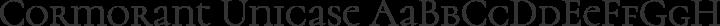 Cormorant Unicase Regular free font