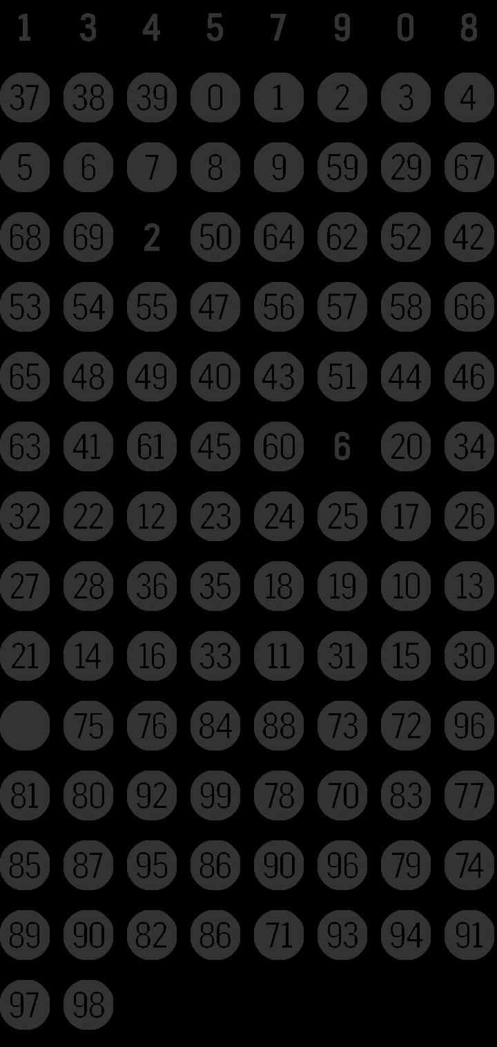 Fyra Dingbat Font Specimen