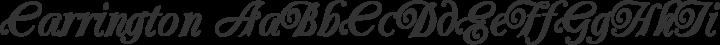 Carrington Regular free font