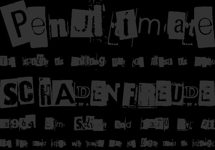 BlackCasper Font Phrases