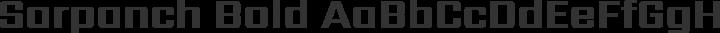 Sarpanch Bold free font