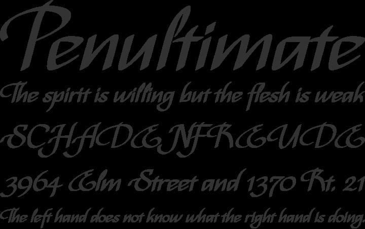 Bispo Font Phrases