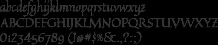 Quintessential Font Specimen