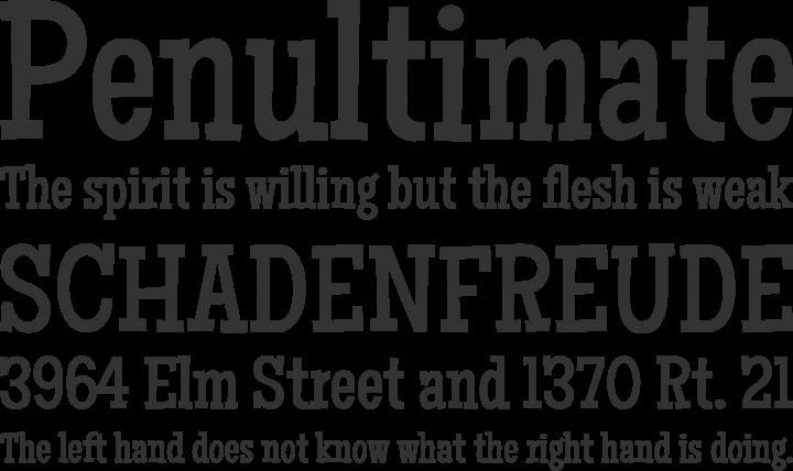 Maiden Orange Font Phrases