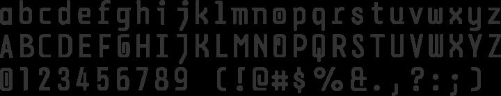 DPSDbeyond Font Specimen